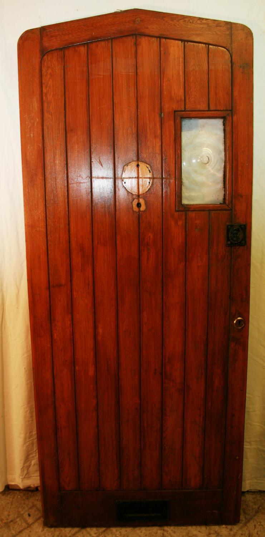 DE0732 A Plank Style Oak Cottage Door