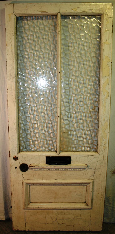 DE0738 A Heavy, Late Victorian Front Door