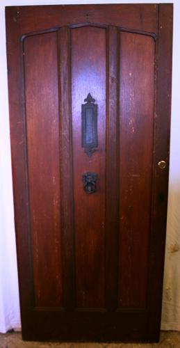 DE0739 An Oak Cottage Door c.1930