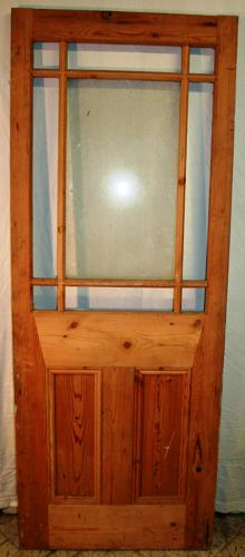DI0645 A Lovely Victorian Pine 'Cardiff' Style Door