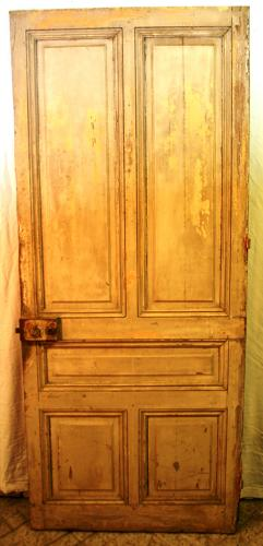 DI0648 A Beautiful, Period French Oak Door for Internal use