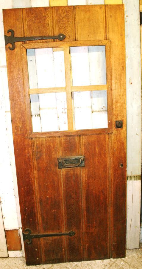 DE0748 A Large Oak Cottage Front Door