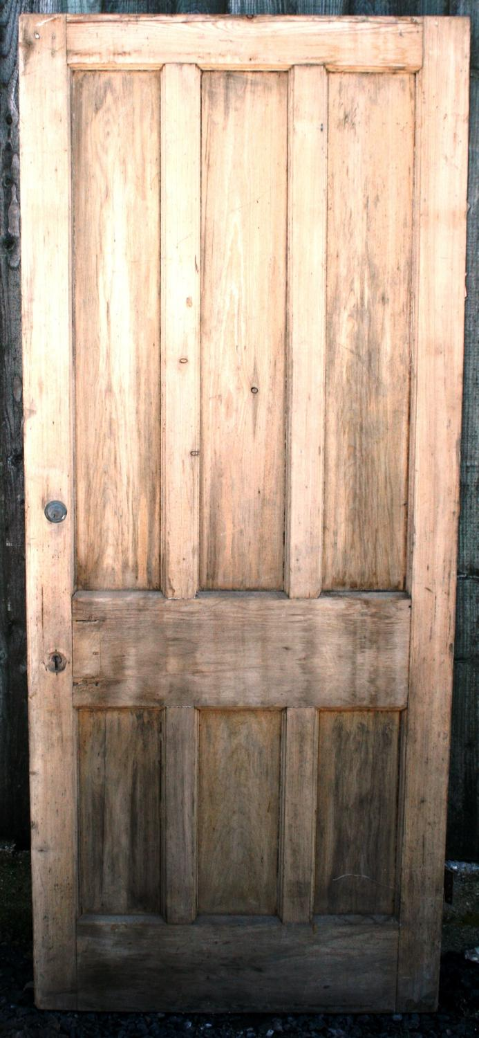 DB0275 An Edwardian Pine, 6 Panelled door