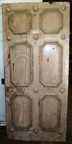 DB0569 An Unusual Georgian Pine Door for Internal or External Use