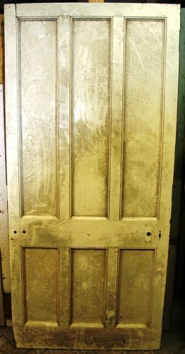 DB0598 A Solid, Early Edwardian Oak Door for Internal/External Use