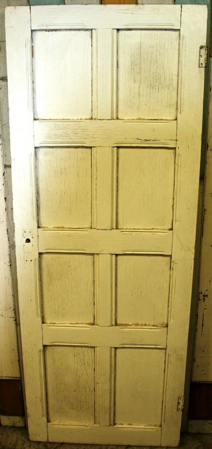 DB0616 An Edwardian, Arts & Crafts Door for Internal or External Use