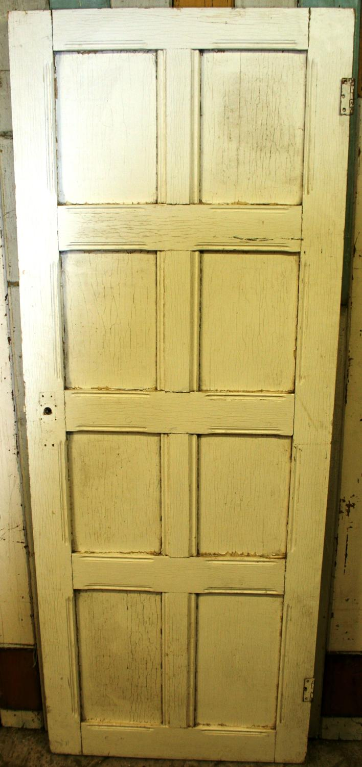 DB0616 An Edwardian, Arts & Crafts Door for Internal or External Use