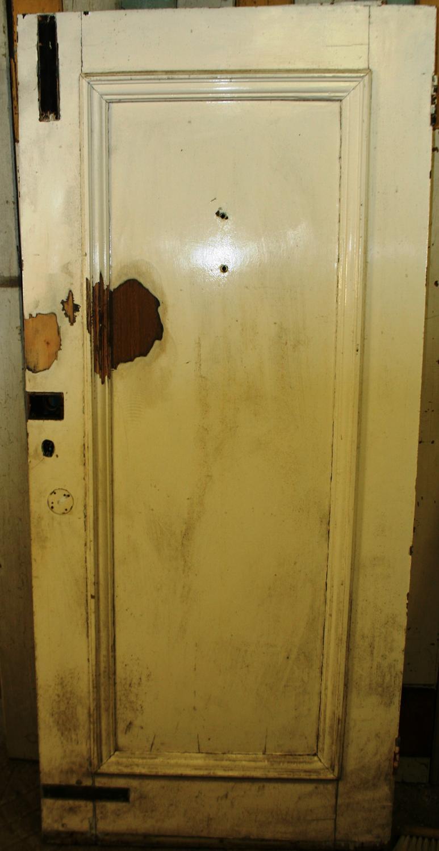 DB0636 An Edwardian Front Door in Pine