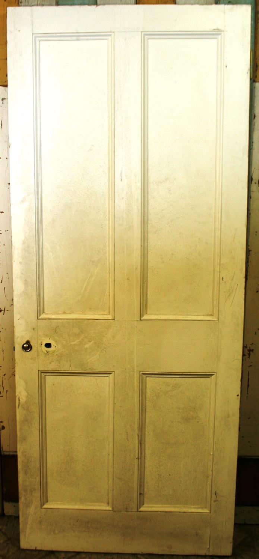 DI0561 A Heavy Georgian Style Firedoor in Hardwood.