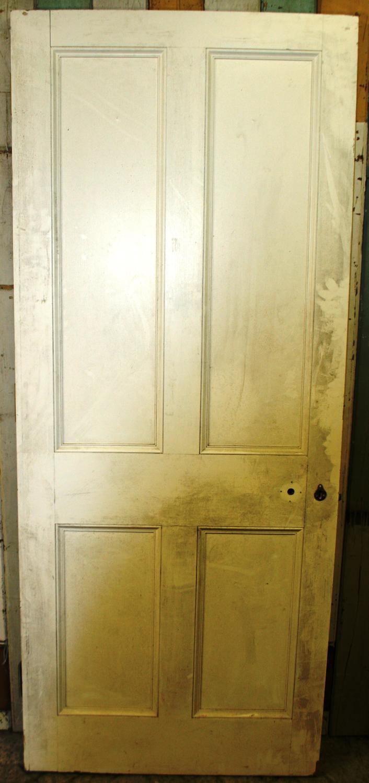 DI0562 A Heavy Georgian Style Firedoor in Hardwood.