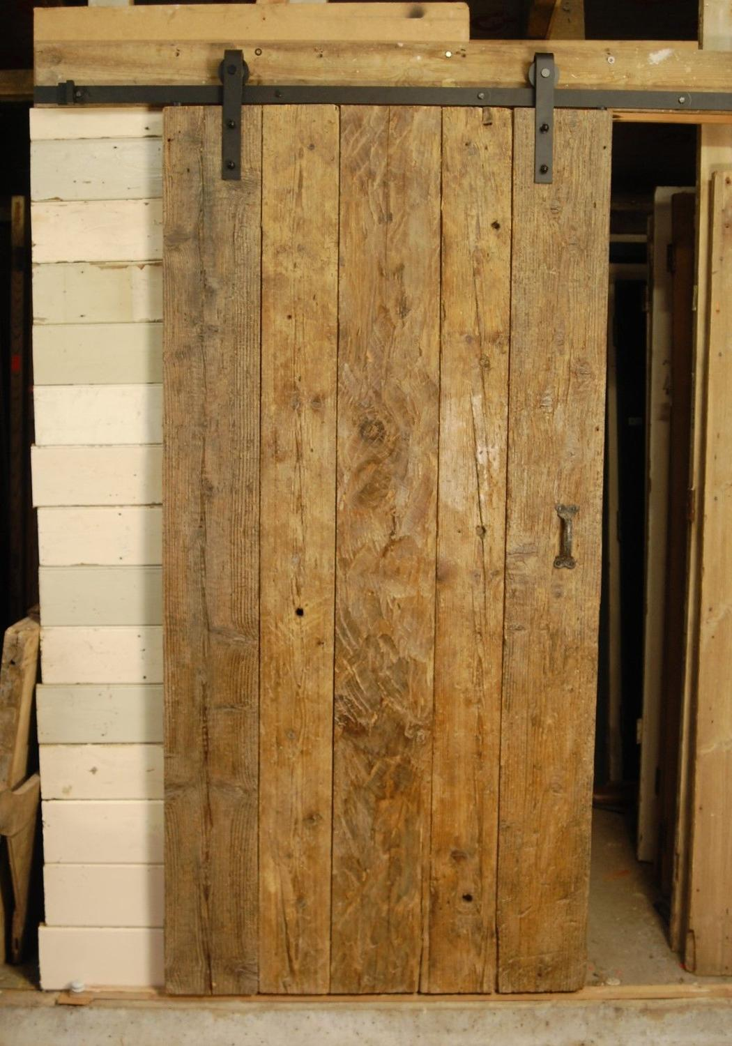 Fantastic rustic pine sliding barn style door - can be made to measure