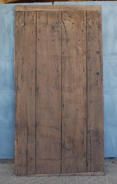Fantastic Georgian Oak Door, ideal for table top or sliding door