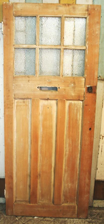 DE0760 A Cottage Style, Edwardian Front Door