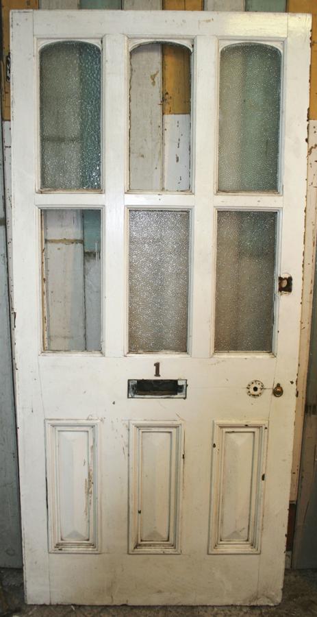 DE0761 A Large, Impressive Late Victorian Front Door