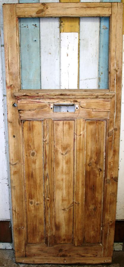 DE0764 A Classic Edwardian Door in Solid Pine