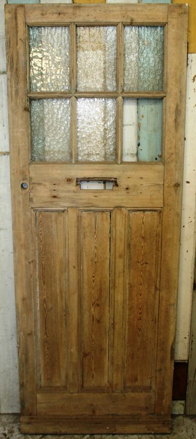 DE0766 A Lovely Classic Edwardian Pine Door