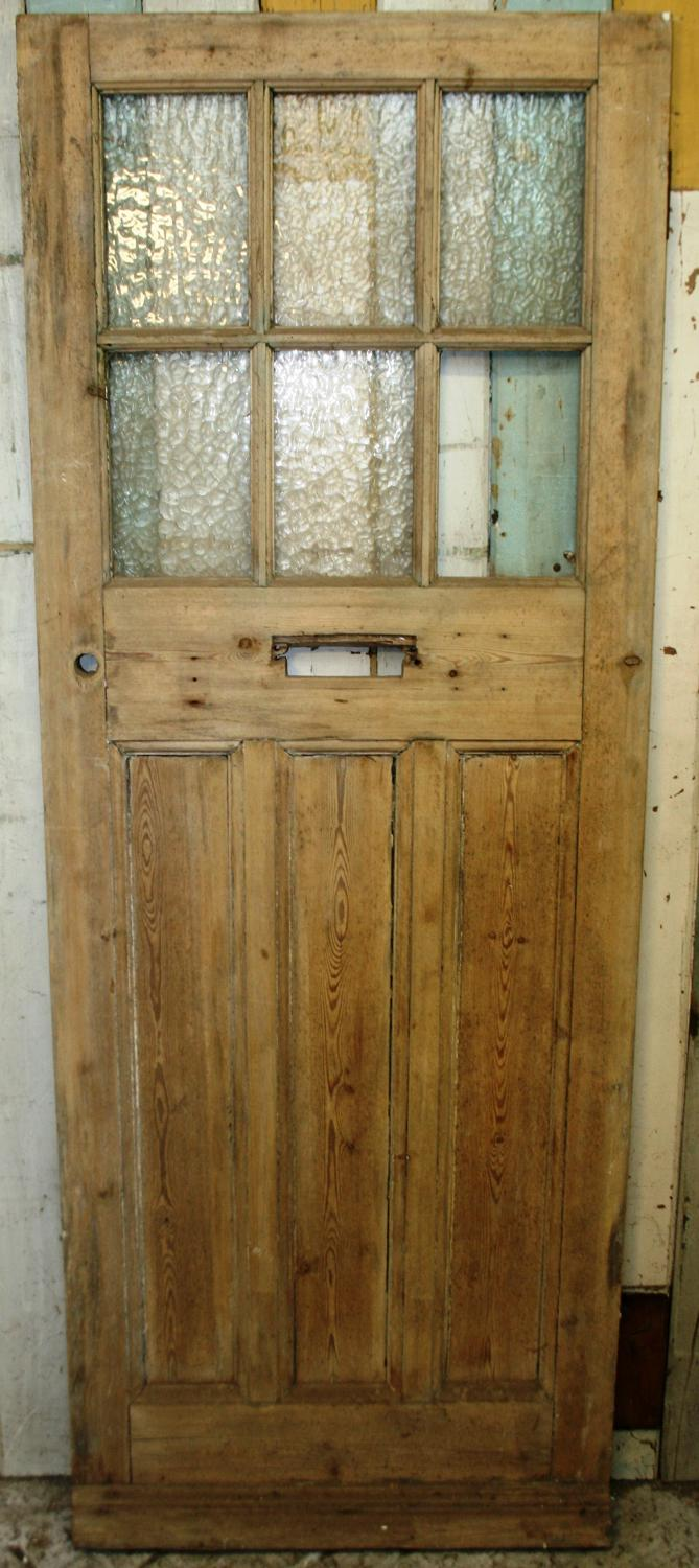 DE0766 A Lovely Classic Edwardian Pine Door