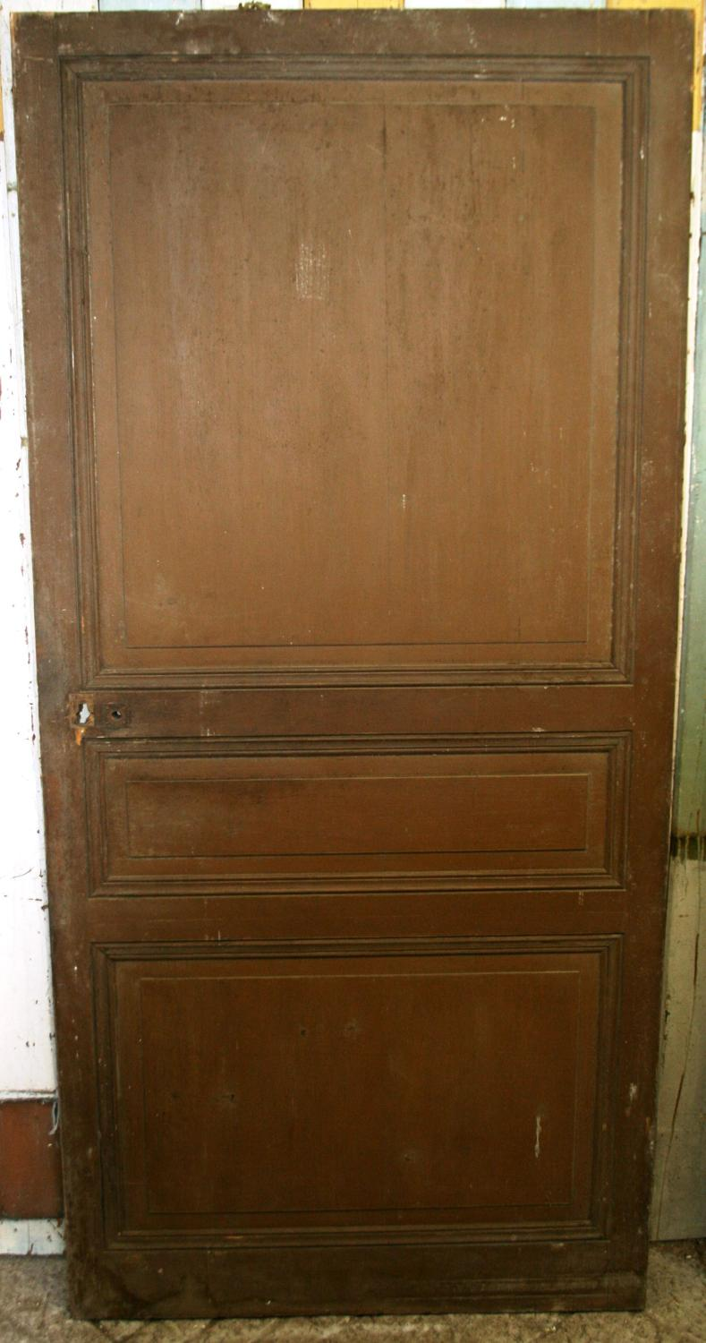 DI0590 A French, Oak Internal Door with Pine Panels