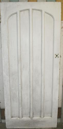 DB0376 A Gothic Pine Door, for Internal or External Use