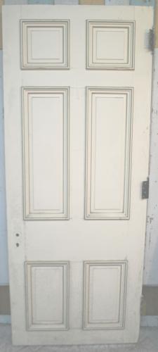 DB0638 An Early Edwardian, Georgian Style, 6 Panel Door in Pine