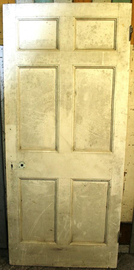 DB0642 An Elegant Edwardian 6 Panel Door for Internal or External Use