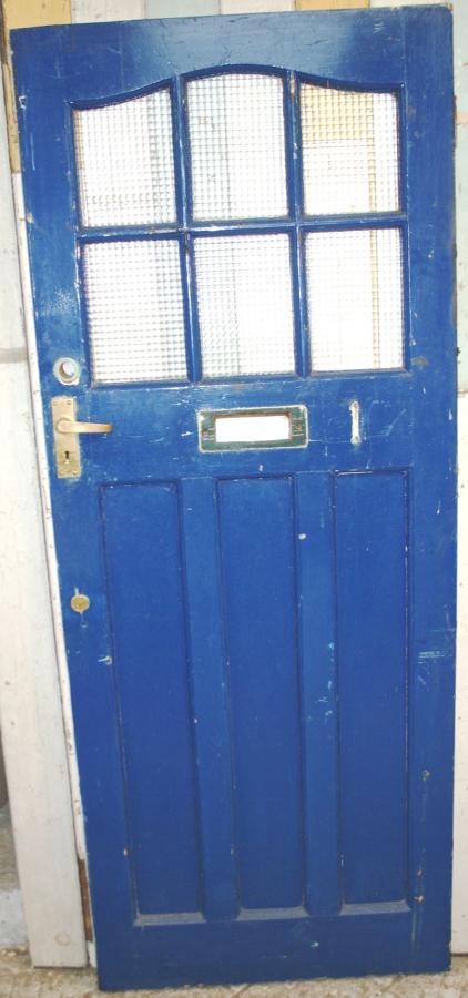 DE0762 An Elegant Edwardian Door in Solid Pine