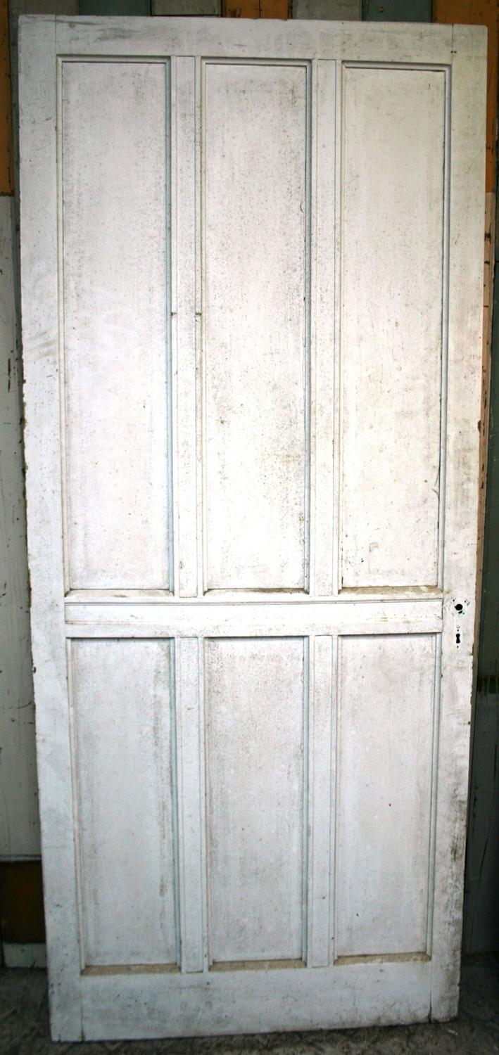 DI0578 An Unusual Internal Edwardian Pine Door with different faces