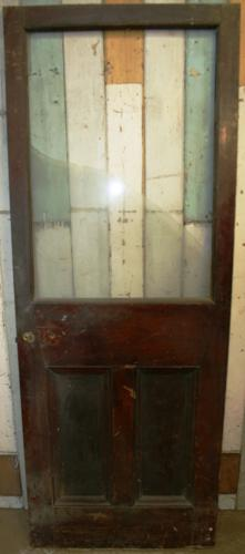 DB0057 A Victorian Glazed Door for Internal or External Use