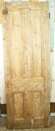 DB0090 A Victorian 4 Panelled Door for Internal or External Use