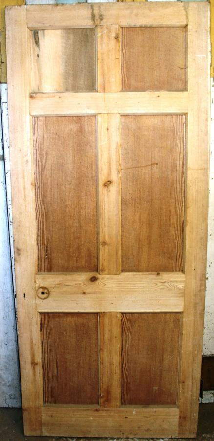 DB0140 A Victorian Pine, 6 Panel Door for Internal or External Use