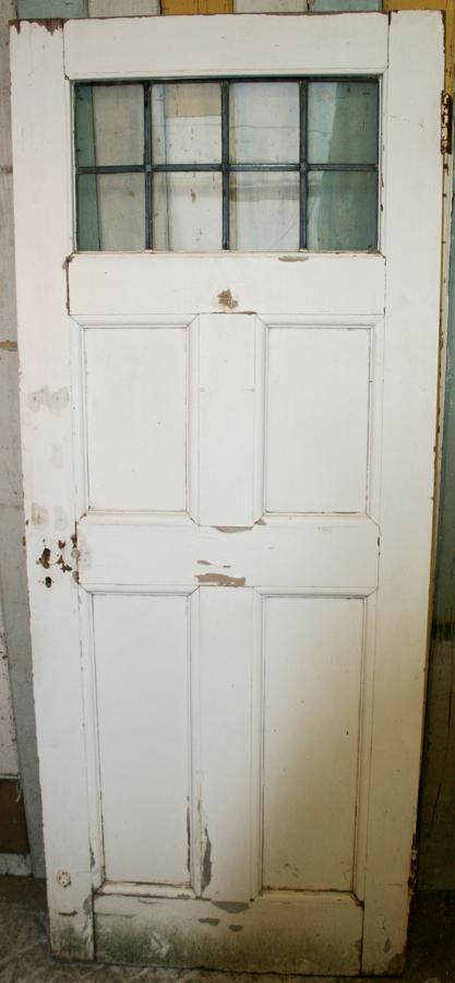 DB0468 An Edwardian 5 Panel Glazed Door for Internal/External use