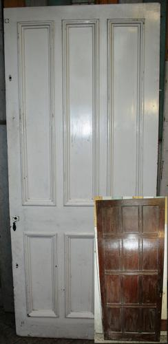 DI0571 An Unusual Edwardian Internal Door with Different Faces