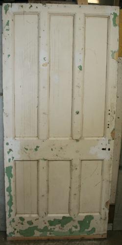 DB0603 A Solid, Victorian, 6 Panel Internal/External Door