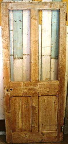 DB0645  A Solid Pine Victorian Style Door for Glazing