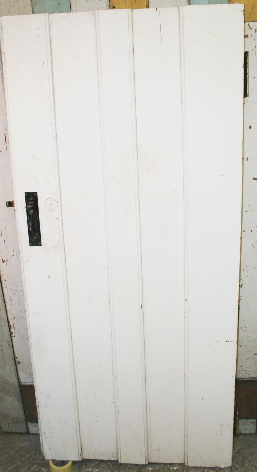DB0646 A Victorian, Planked Cottage Style Door