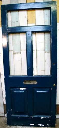 DE0490 An Edwardian, Glazed Front Door