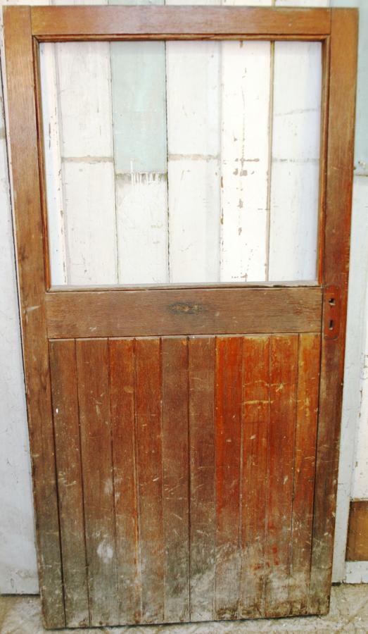 DE0527 A Victorian, Mahogany, Cottage Style Door