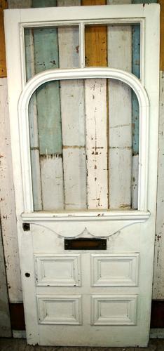 DE0664 A Beautiful and Unusual Edwardian Front Door c. 1910