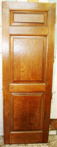DI0205 A Solid Oak Edwardian/Neo-Georgian Interior Door