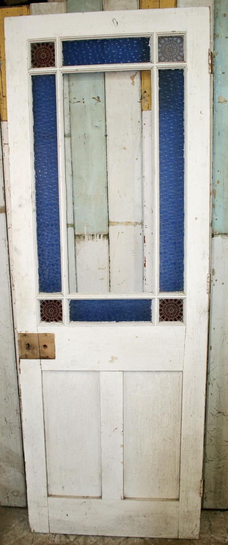 DI0389 A Pretty, Victorian, Cardiff Door for Internal Use