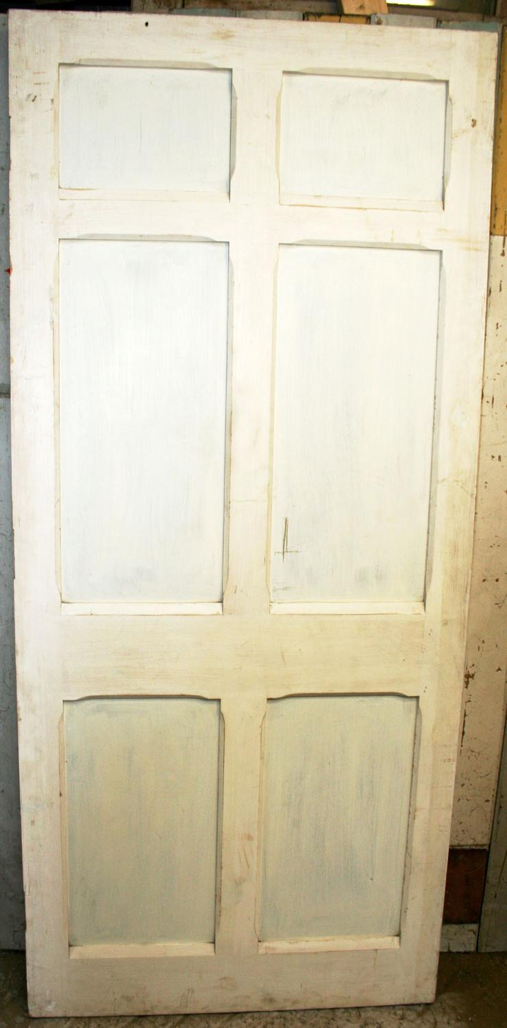 DI0499 A Joinery-Made Copy of a 6 Panel Victorian Door