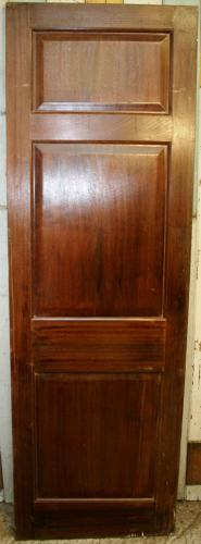 DI0662 An Edwardian Door in Solid Mahogany, for Internal Use