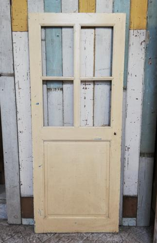 DI0661 A LOVELY RECLAIMED FRENCH PINE INTERNAL DOOR