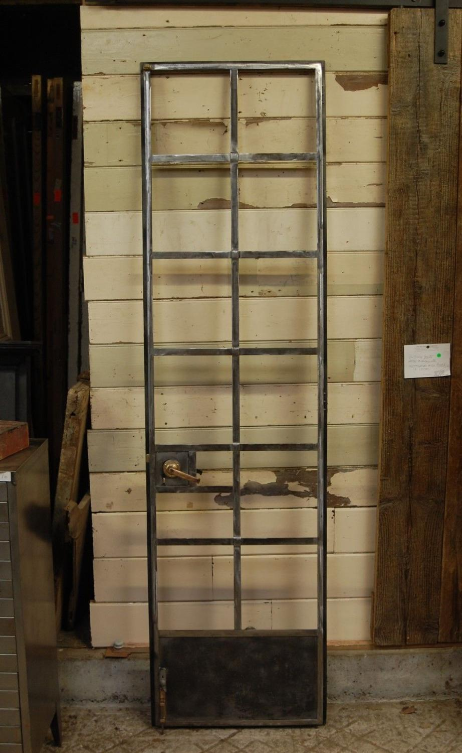 1156 AN INDUSTRIAL RECLAIMED CRITTALL DOOR FOR WARDROBE / CUPBOARD