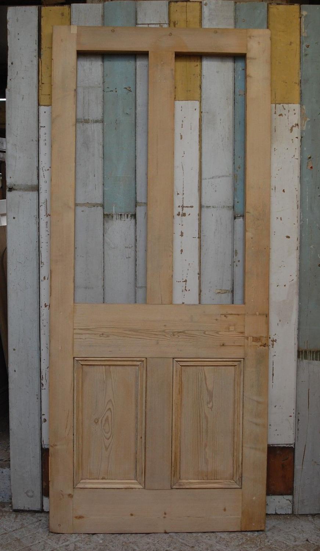 DE0783 RECLAIMED SOLID PINE EXTERNAL / INTERNAL DOOR