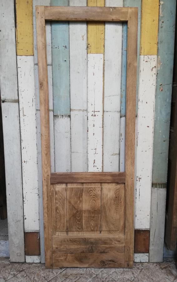 DB0644 A RUSTIC GOTHIC STYLE ANTIQUE OAK DOOR INTERNAL / EXTERNAL USE