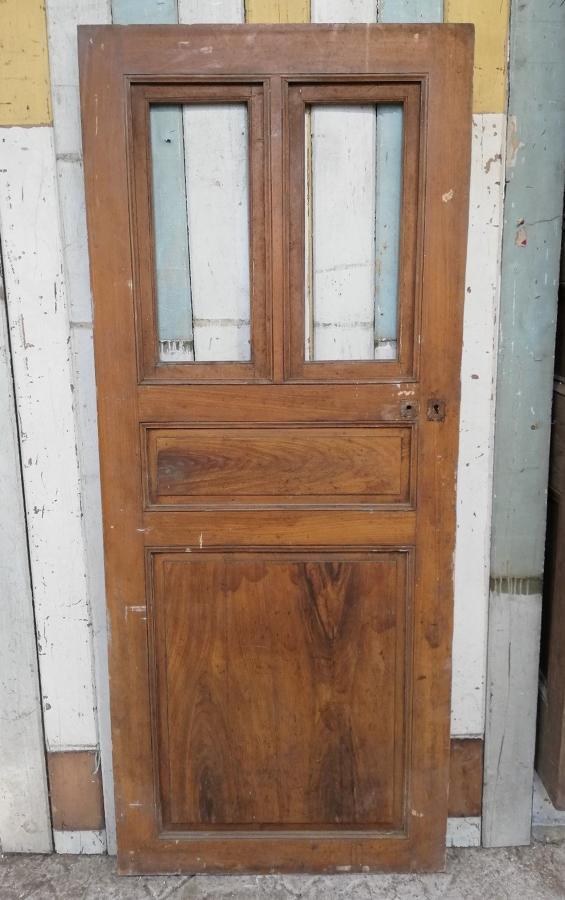 DI0660 INTERESTING INTERNAL PINE DOOR WITH OPENING WINDOWS