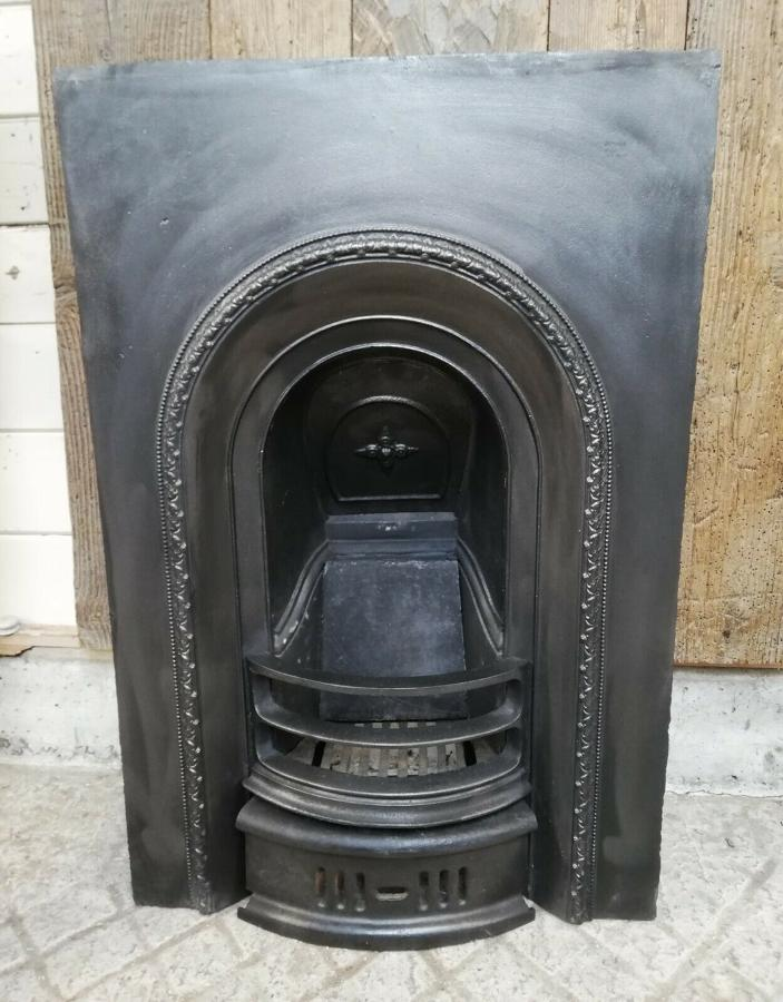FI0028 VICTORIAN CAST IRON BEDROOM FIRE