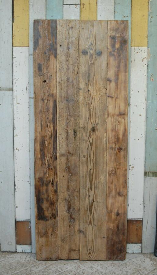 DI0677 RUSTIC OLD PINE PLANK DOOR / POSSIBLE SLIDING DOOR
