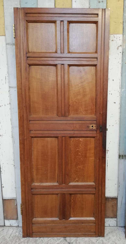 DI0709 ARTS AND CRAFTS OAK FACED INTERNAL PINE DOOR